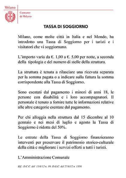 Best Imposta Di Soggiorno Milano Pictures - Design Trends 2017 ...